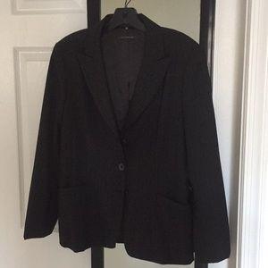Elie Tagari pinstripe suit jacket